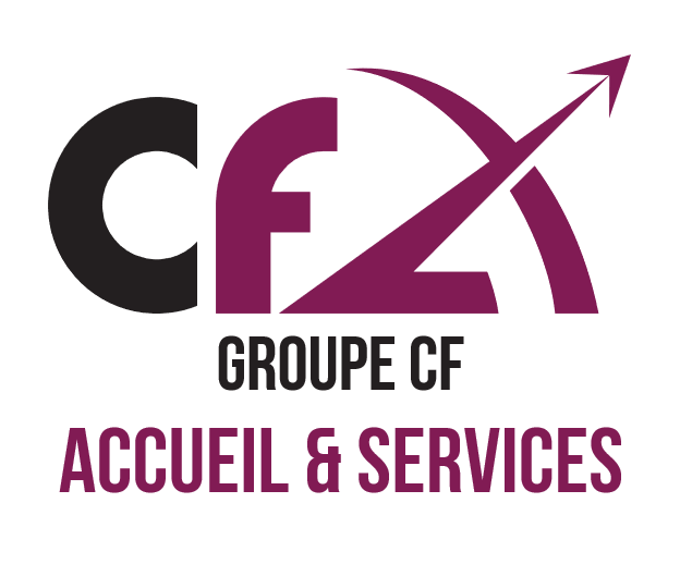 Nouveau logo : Groupe CF Accueil et Services (anciennement Alzane)
